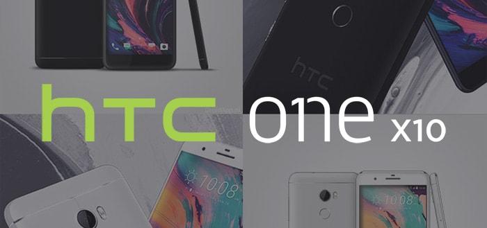 HTC One X10 aangekondigd met grote accu en 5,5 inch Full-HD display