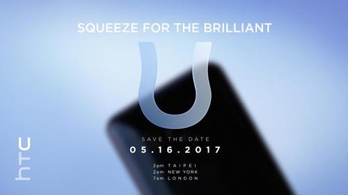 HTC U 16 mei