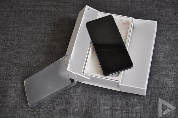 Huawei P10 verkooppakket