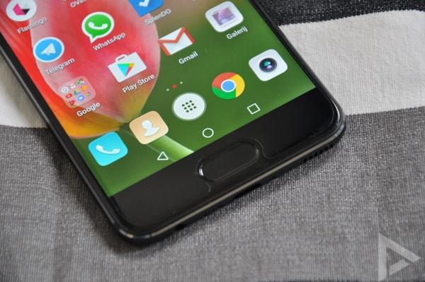 Huawei P10 home-button vingerafdrukscanner