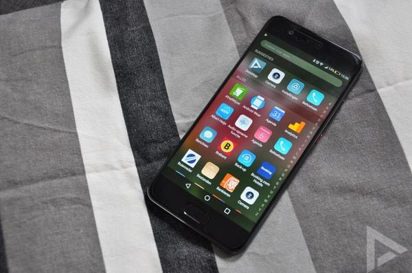 Huawei P10 menu