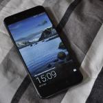 Huawei P10 lockscreen