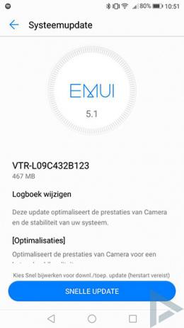 Huawei P10 B123 update