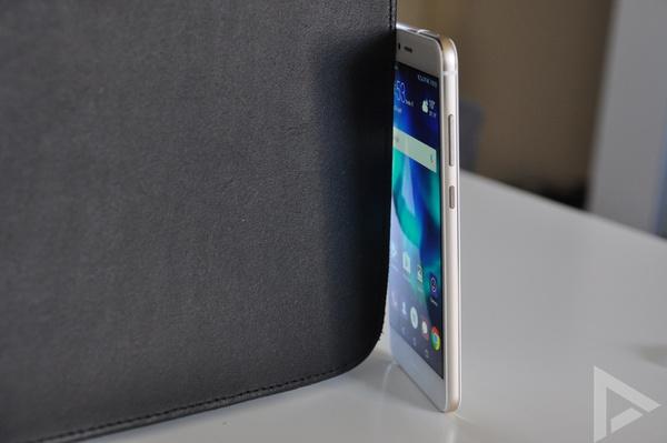 Huawei P10 Lite volumetoets