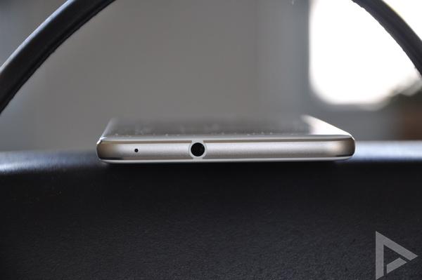 Huawei P10 Lite bovenkant