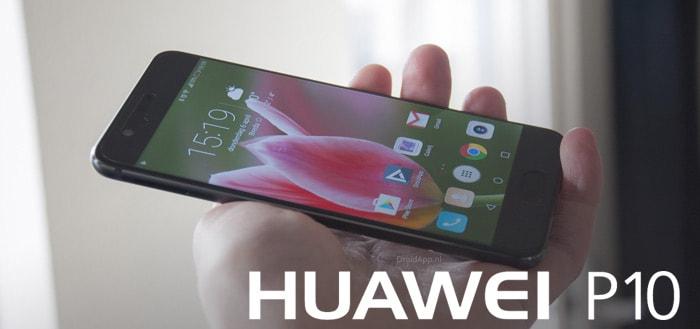 Huawei P10 (Plus) ontvangt beveiligingsupdate juli 2018