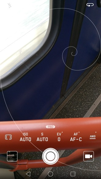 Huawei P9 camera pro-modus
