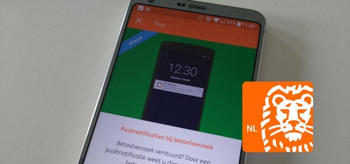 ING Bankieren app 3.11: notificaties bij betaalverzoek en verbeterde 'Kijk Vooruit'