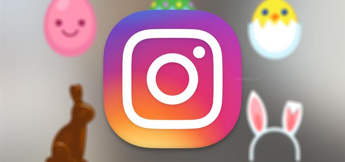 Instagram voegt paas-stickers toe aan foto-app, speciaal voor Pasen