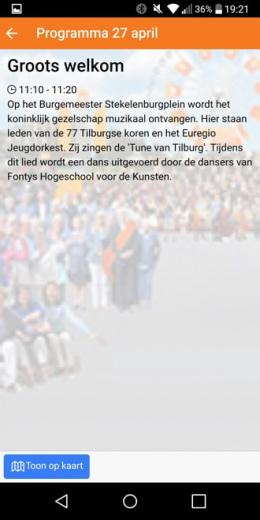 Koningsdag 2017 tilburg app