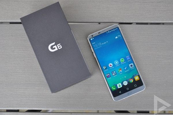 LG G6 verkooppakket