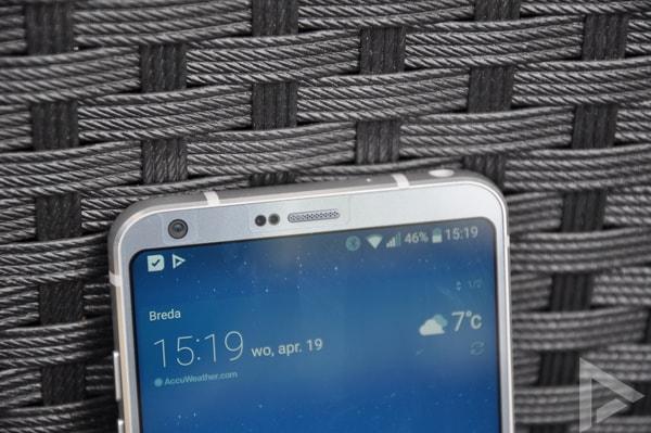 LG G6 18:9 beeldverhouding