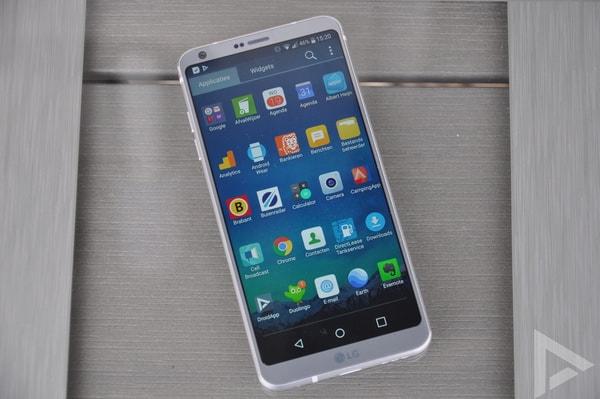 LG G6 menu