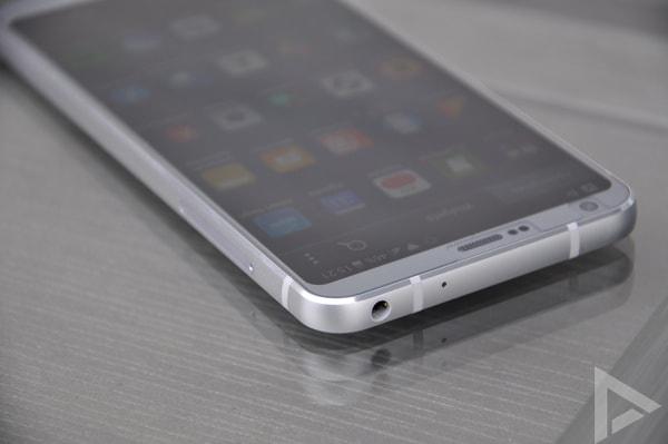LG G6 bovenkant