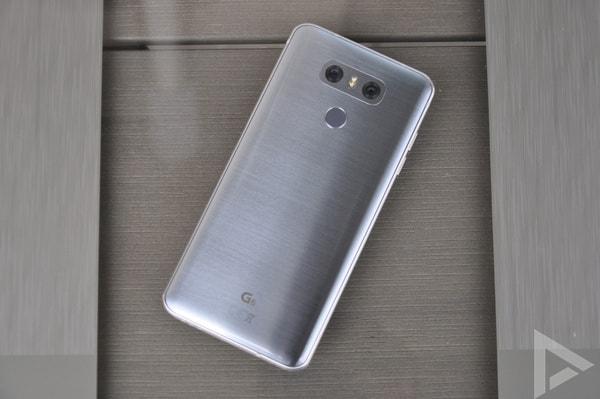 LG G6 achterkant
