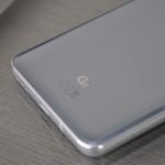 LG G6 platinum silver