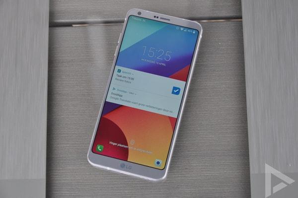 LG G6 vergrendelscherm
