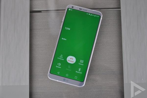 LG G6 bellen