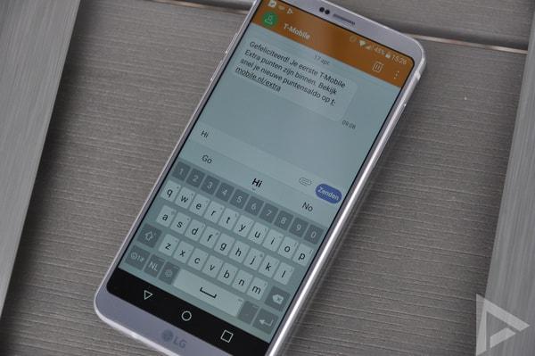 LG G6 sms