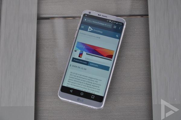 LG G6 internet