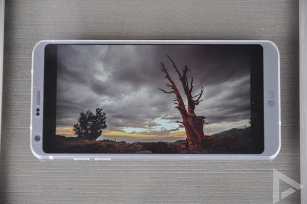 LG G6 beeldscherm
