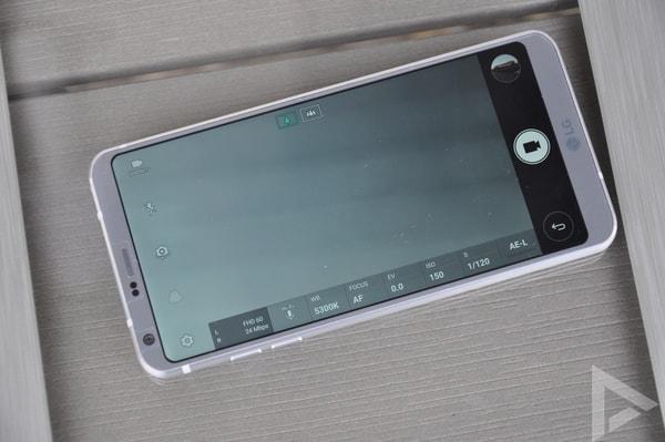 LG G6 videocamera