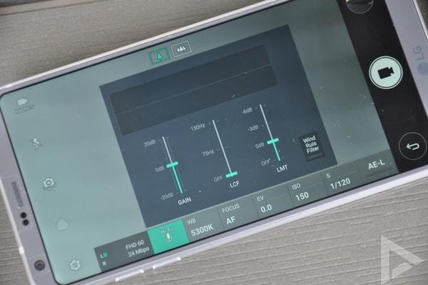 LG G6 windruisfilter