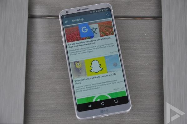 LG G6 DroidApp App