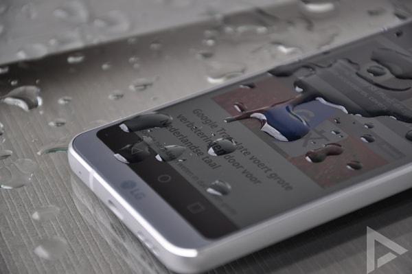 LG G6 druppels