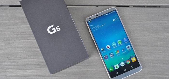 LG is op de goede weg: LG G6 krijgt beveiligingsupdate januari 2018