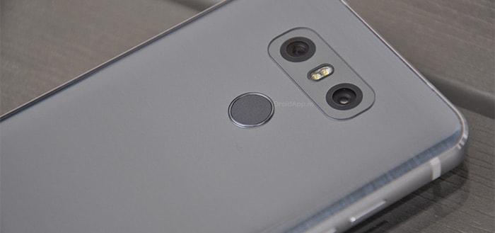 LG G6: beveiligingsupdate januari 2019 beschikbaar