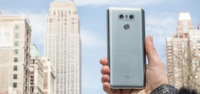 LG G6 met Android 8.0 Oreo duikt op: eindelijk een update voor G6