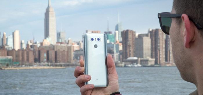 LG is bezig met ontwikkeling 3D-gezichtsherkenning voor LG G6