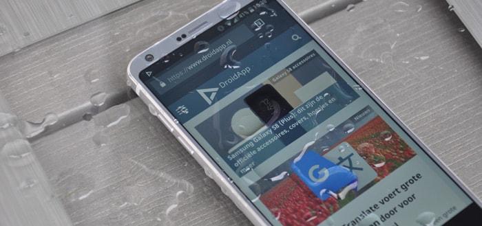 LG G6 krijgt eindelijk beveiligingsupdate november 2017: maar niet vanzelf