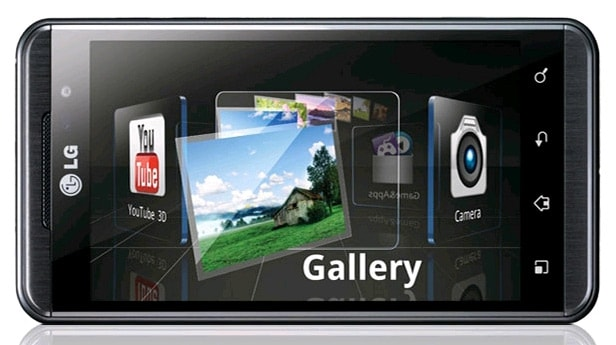 LG Optimus 3D video