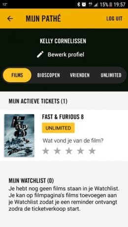 Pathé 4.0 app