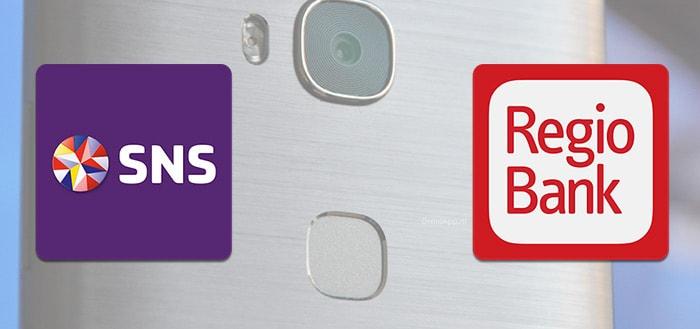 SNS en RegioBank ondersteunen nu vingerafdrukscanner in mobiele apps