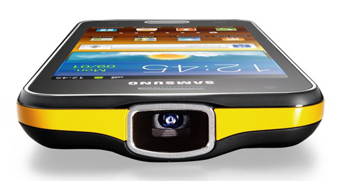Samsung Galaxy Beam projector