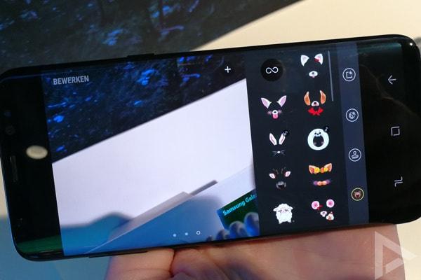 Samsung Galaxy S8 Camera effecten