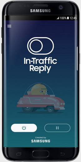 Samsung In-Traffic Reply app