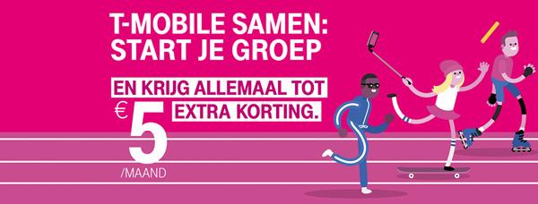 T-Mobile Samen korting