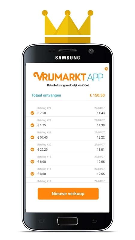 Vrijmarkt app