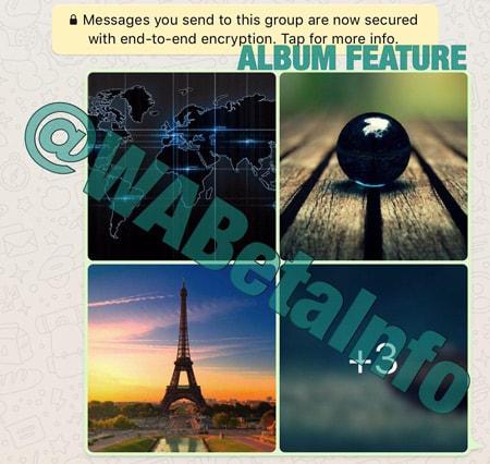 WhatsApp Albums