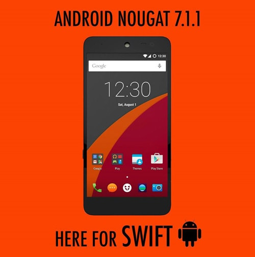 Wileyfox Swift Android 7.1.1 Nougat