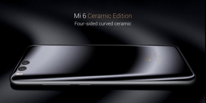 Xiaomi Mi 6 ceramic