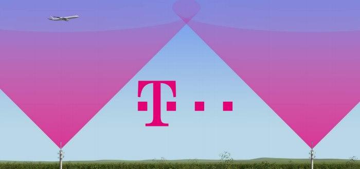 T-Mobile legt laatste hand aan 4G netwerk voor in vliegtuigen