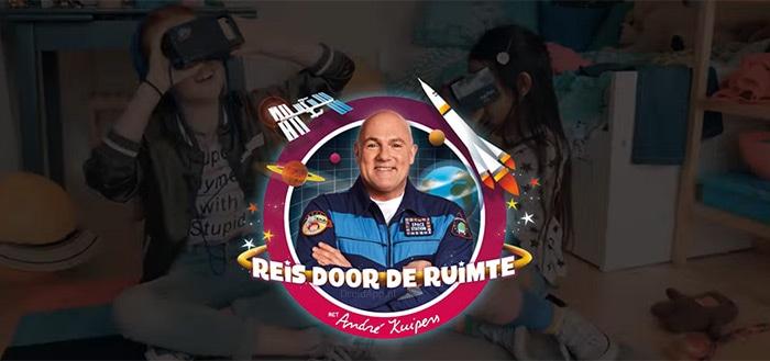 Albert Heijn komt samen met André Kuipers met VR Ruimtevaart-app