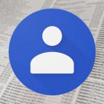 Google Contacten 2.2 uitgebracht met wederom nieuwe interface