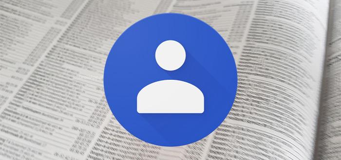 Google Contacten 3.0: compleet nieuw Material Design na update
