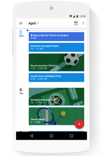 Google Family Groups agenda